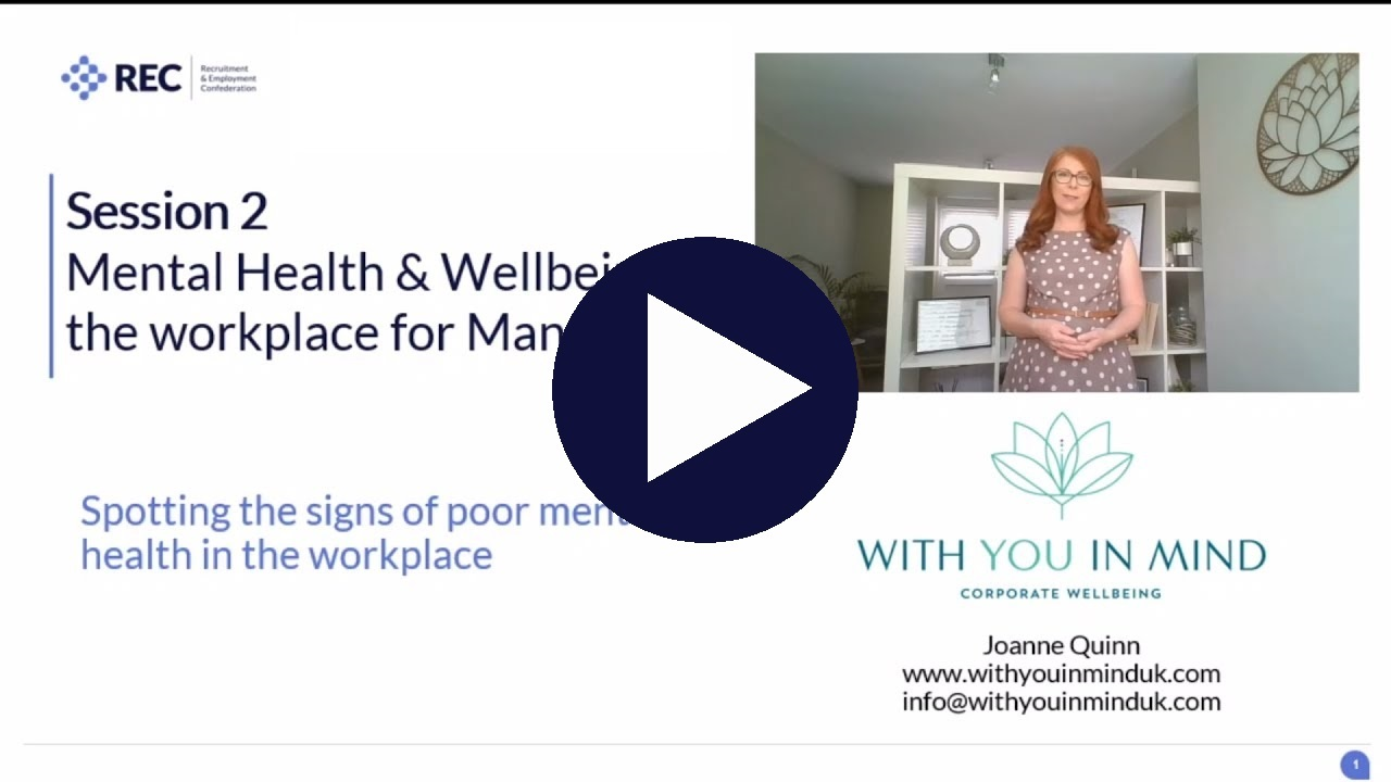 Mental health at work - managers (p1)