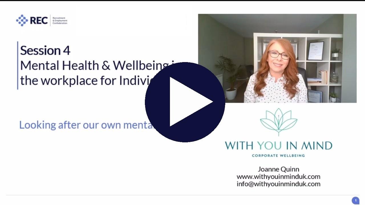 Mental health at work - individuals (p1)